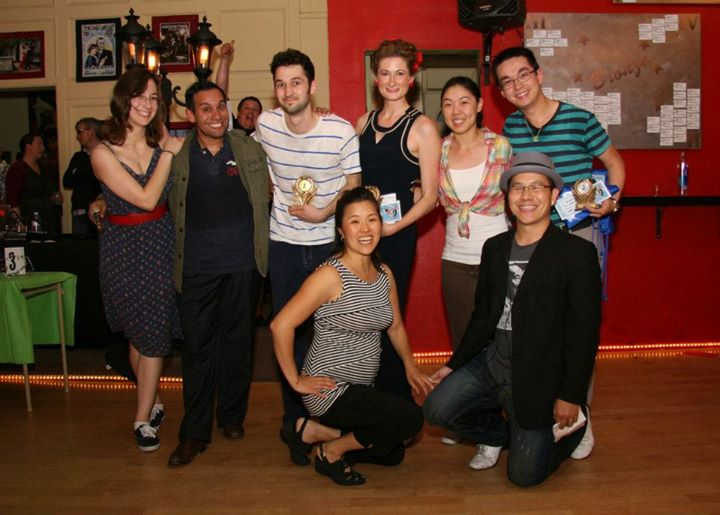 Third Saturday Swing June 2012 Jack and Jill Results!