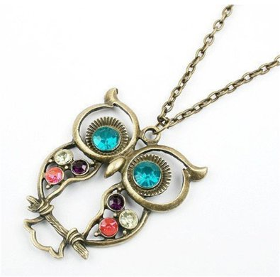 05-retro-colorful-crystal-owl-pendant-and-chain