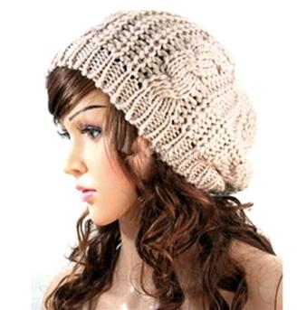 08-women-lady-winter-warm-knitted-crochet-slouch-baggy-beret-beanie-hat-cap