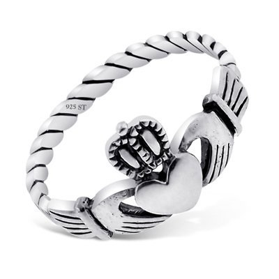 20-nickel-free-sterling-silver-irish-claddagh-friendship-and-love-polish-finish-band